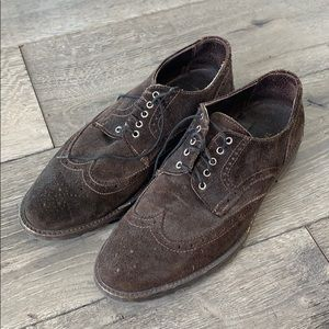 To boot New York Adam Derrick brown suede shoes